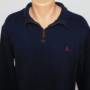 Polo Ralph Lauren 1/4 zip pullover sweater.  XL
